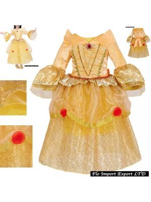 Bella Vestito Bambina Maschera Carnevale BELLEZ01