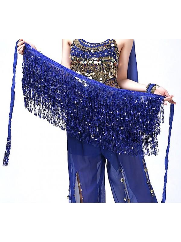 Gonna Frange Spettacolo Ballo Latino Danza Ventre Donna BELLY01