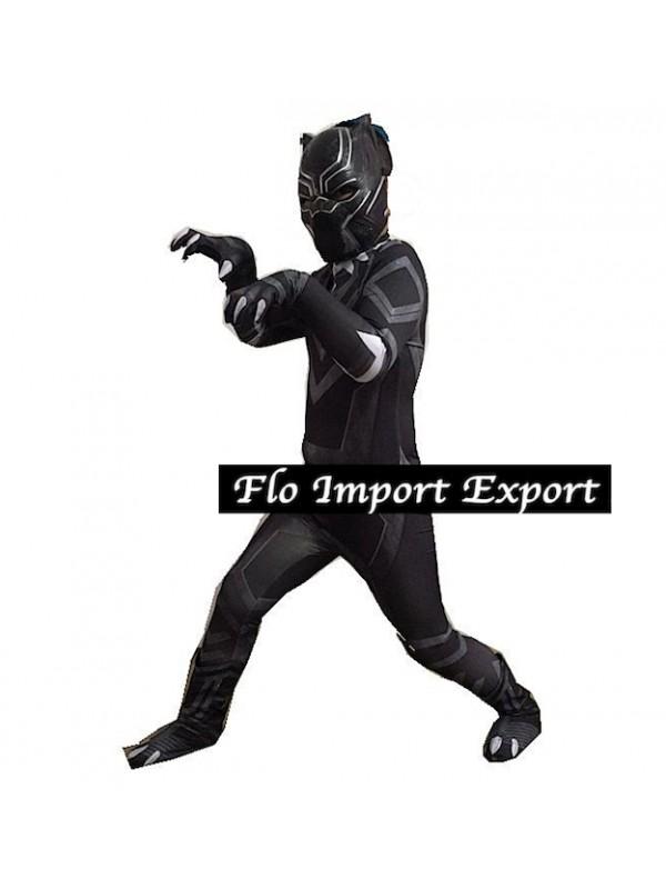 black panther costume bambino  Simile Black Panther Costume Carnevale Bambino Uomo BLACKP03