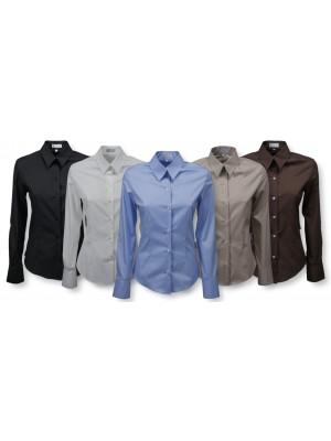 Camicia Donna Manica Lunga Lavoro C02D