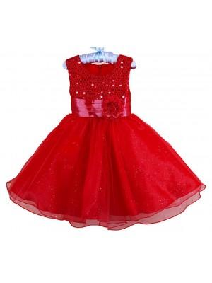 Vestito Party Feste Natale Bambina CDR013