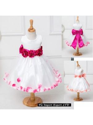 Vestito Bambina Cerimonia Compleanno Floreale CDR052
