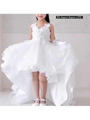 Vestito Bambina 2-15 Anni Cerimonia Comunione CDR062