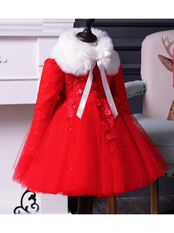 Feste Bambina Natale Cerimonia Vestito Cdr064 L5Rj34Aq