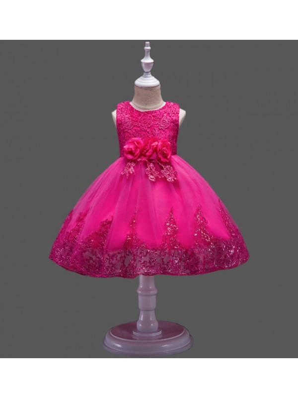competitive price 83ef8 bac1f Vestito Bambina Abito Cerimonia Pailettes CDR076