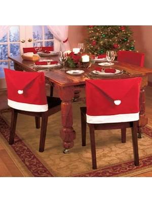 Copri Sedia Decorazione Tavola Natale 6 pezzi CHAIRS01