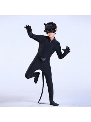 Costume Carnevale Ispirato Chat Noir Ladybug CHAN09