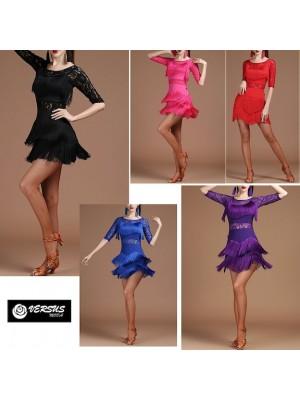 Vestito Frange Spettacolo Charleston Ballo Danza CHARL01