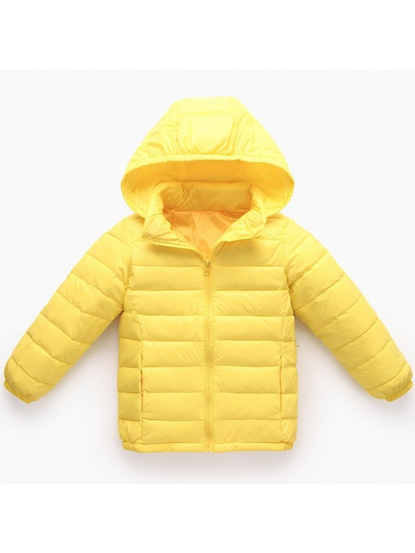 new style ae3aa 963b7 Giacca Bambina Bambino Caldo Piumino Leggero Inverno CHJAC01