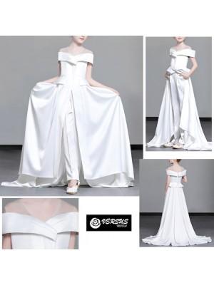 Vestito Bambina Cerimonia Comunione Pantaloni COM010