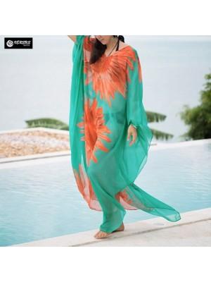 Copricostume Caftano Donna Dress Woman Kaftan COV0198