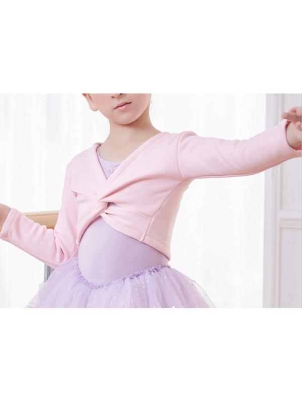 Scaldacuore Bolerino Coprispalle Felpato Danza Bambina CUOR04