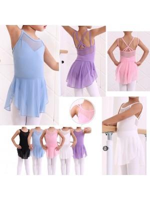Vestito Tutù Body Saggio Lezione Danza Bambina DANC120
