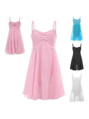 Vestito Tutù Body Saggio Lezione Danza Bambina DANC121