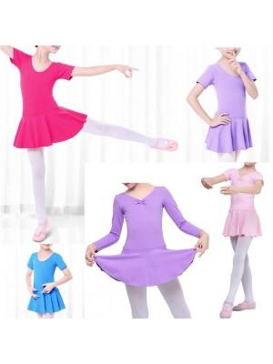 Vestito Body Lezione Danza Manica Lunga o Corta DANC126