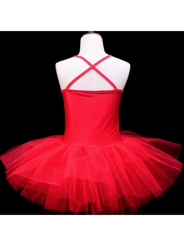 Vestito Tutù Saggio Danza Bambina Paillettes DANC127B