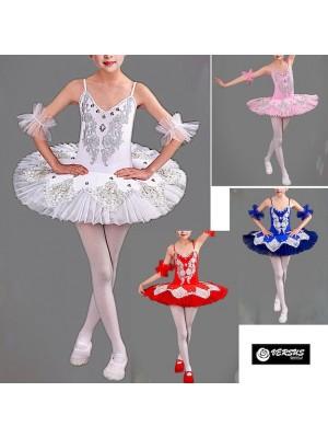 Vestito Tutù Saggio Danza Bambina Ragazza DANC133