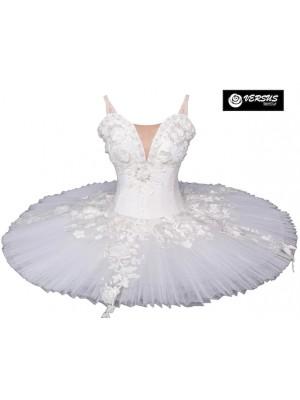 Vestito Tutù Ricamato Saggio Danza Bambina Ragazza DANC156