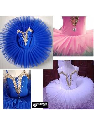 Vestito Tutù Saggio Danza Bambina Ragazza DANC162