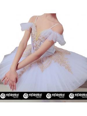 Vestito Tutù Saggio Danza Bambina Ragazza DANC164