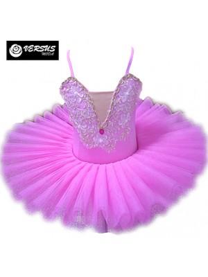 Vestito Tutù Saggio Danza Bambina Ragazza DANC168