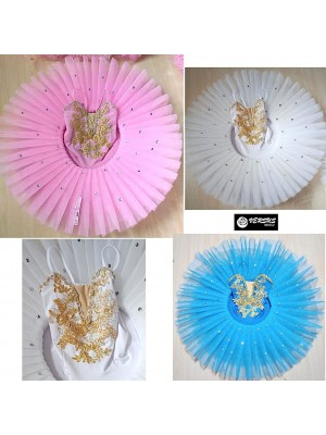 Vestito Tutù Saggio Danza Bambina Donna DANC169