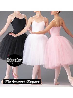 Vestito Tutù Body Lezione Danza Bambina Girl Ballet Tutu Dress DANC122
