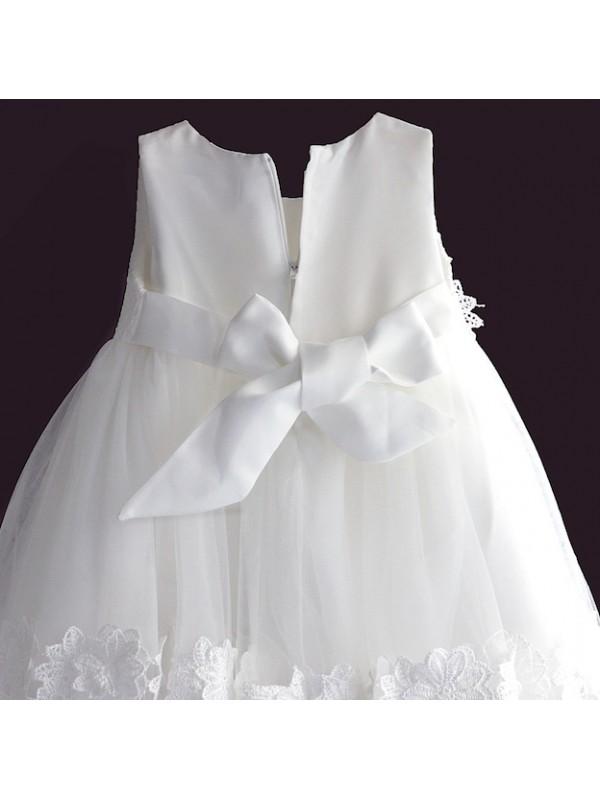Vestito Bambina Abito Cerimonia Battesimo Compleanno Girl Party Dress DGZF045