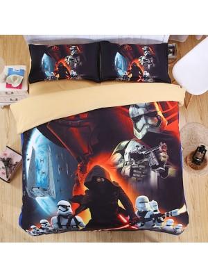 Star Wars Set letto Copripiumone Lenzuolo Federa DUVSW01