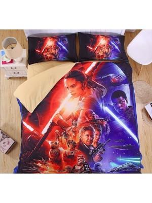 Star Wars Set letto Copripiumone Lenzuolo Federa DUVSW02