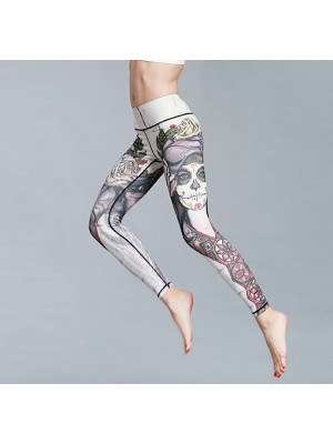 Pantaloni Leggings Yoga Donna Casual Sport FITS001