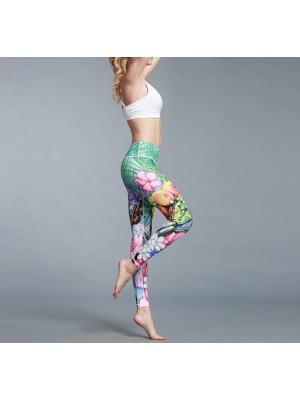 Pantaloni Leggings Yoga Donna Casual Sport FITS014