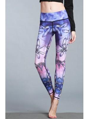 Pantaloni Leggings Yoga Donna Casual Sport FITS017
