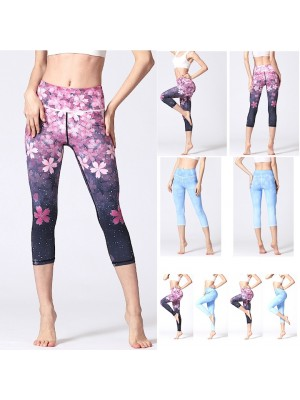 Pantaloni Leggings Yoga Donna Sport FITS023 - 24