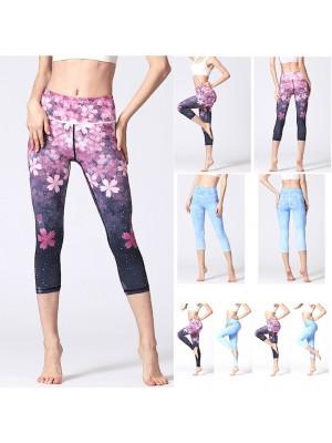 Pantaloni Leggings Yoga Donna Sport FITS023 - 24