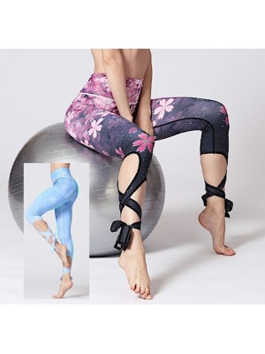 Pantaloni Lacci Leggings Yoga Donna Sport FITS026 - 27