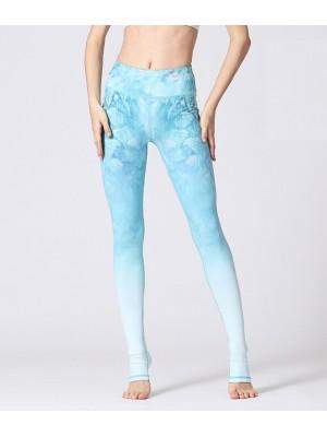 Pantaloni Leggings Yoga Donna con Tallone FITS029