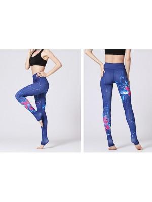 Pantaloni Leggings Yoga Donna Sport FITS032