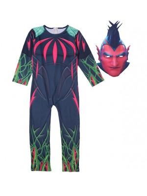 Simile Fortunite Costume Carnevale Vestito Maschera Cosplay FNITE01