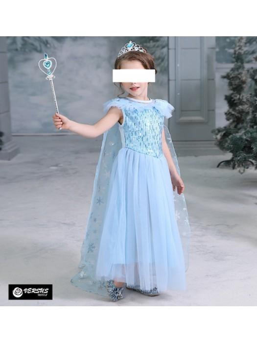 Simil Frozen 2 Vestito Carnevale Elsa FROZ005