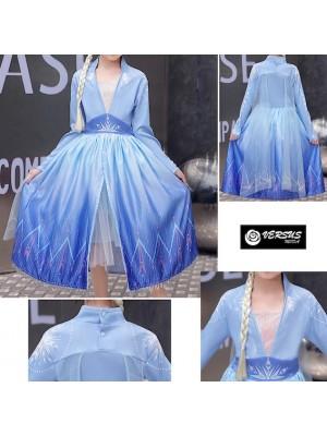Simile Frozen 2 Veli Vestito Carnevale Elsa FROZ047B