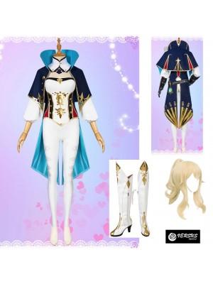 Simil Jean Vestito Genshi Carnevale Cosplay Impact Anime Costume GENIMP04
