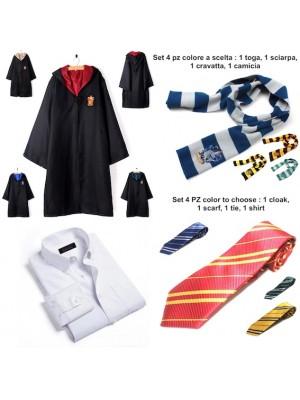 Simile Harry Potter Toga Vestito Carnevale Adulto HARRY01BA