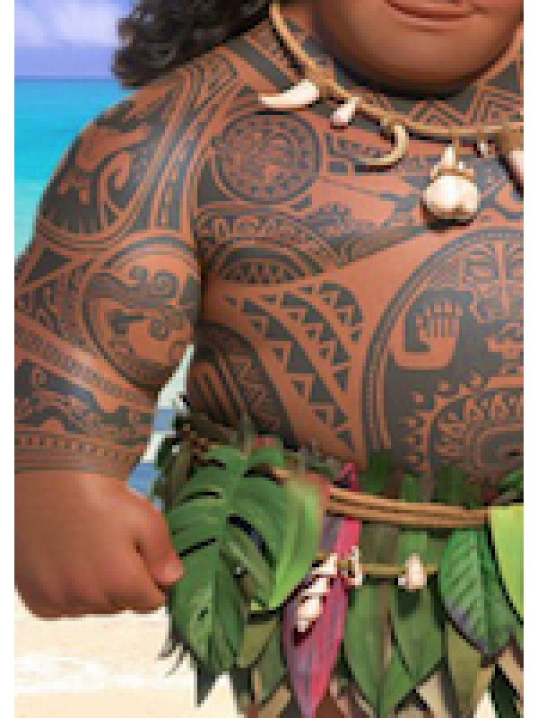 Tipo Vaiana Felpa Autunno Primavera Maui HOMAU01
