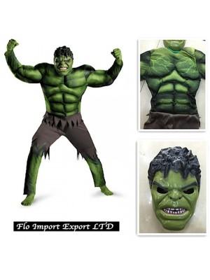 Hulk Maschera Vestito Carnevale Bambino HULK01