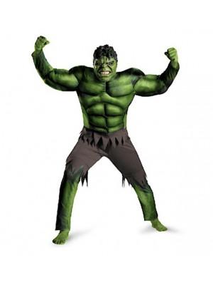 Hulk Maschera Adulto Vestito Carnevale Uomo HULK01 A
