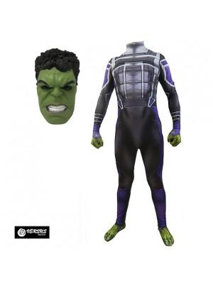 Hulk Maschera Vestito Avengers Carnevale Bambino Uomo HULK02