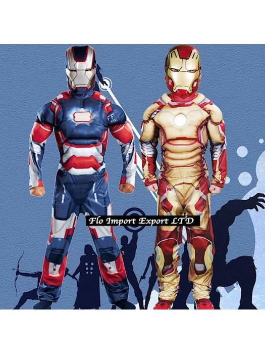 Ironman Blu Solo maschera