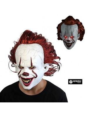 Simile Pagliaccio IT Maschera Carnevale Cosplay ITMASK01