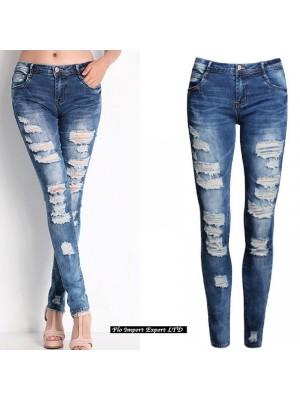 Jeans Pantaloni Donna Tagliati JEA002